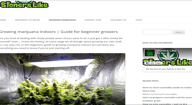 How to improve the production of cannabis trichomes and growing marijuana indoors