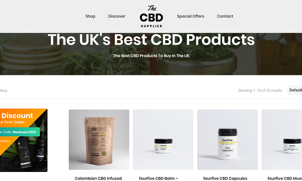 CBD Oil in the UK – Food Status