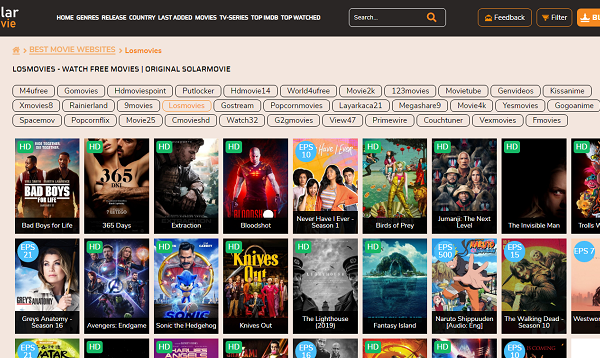 To View Free Movies/TV Collection Online