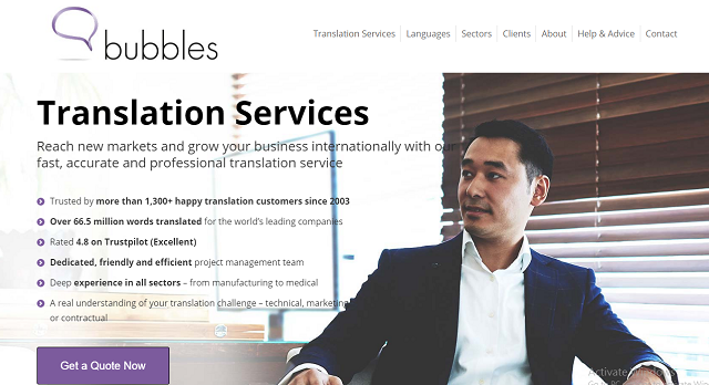 These Services Span Across Language Translations