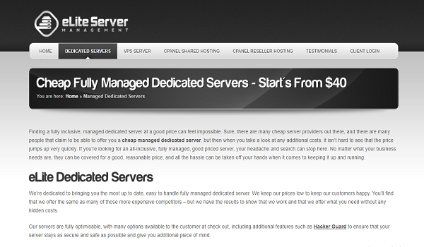 Just How Much Does A low cost dedicated servers Price?